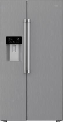 BFSB3622SS 36″ Counter Depth Sid-By-Side Refrigerator with 19.32 cu. ft. Capacity  EverFresh+  Sabbath Mode  NeoFrost Dual Cooling Technology and