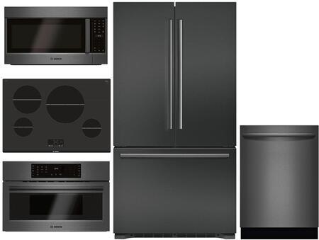 Bosch 980944 Kitchen Appliance Package & Bundle Black Stainless Steel, Main image