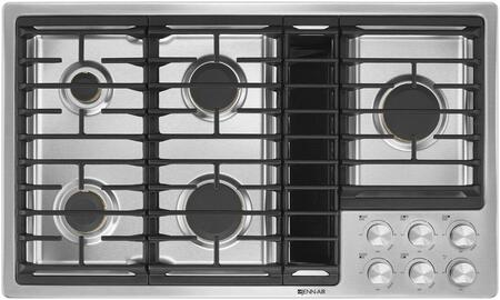 Jenn-Air JGD3536GS 36 Inch Natural Gas Cooktop with 5 Sealed Burners, Downdraft Venting