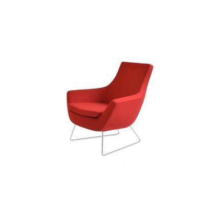 Sierra 250-CD-RBC-CUZ13 Lounge Chair in Red