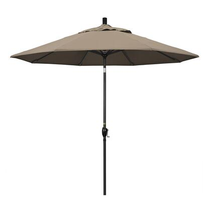 California Umbrella Pacific Trail GSPT908302SA61 Outdoor Umbrella Gray, GSPT908302 SA61