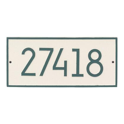 Whitehall Products 3142L4 Address Plaques, 3142L4 KO