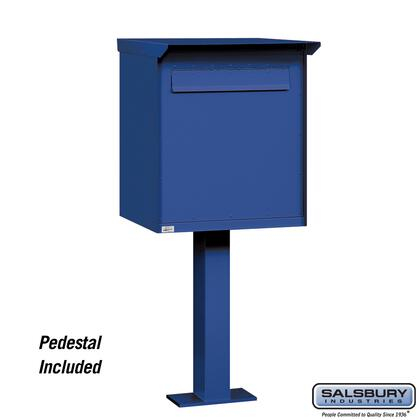 Salsbury Industries  4276BLU Commercial Mailboxes , 4276BLU f