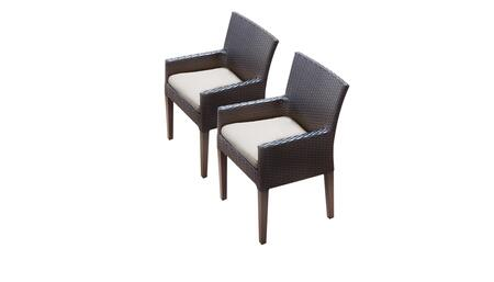 TK Classics BARBADOSTKC097BDCCBEIGE Patio Chair, BARBADOS TKC097b DC C BEIGE