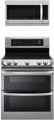 LG  1308042 Kitchen Appliance Package Stainless Steel, Main image