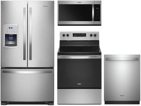 Whirlpool  991686 Kitchen Appliance Package Stainless Steel, Main Image