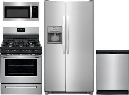 Frigidaire  1135132 Kitchen Appliance Package Stainless Steel, main image