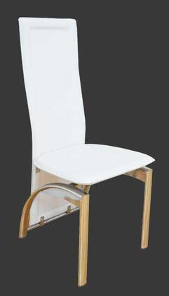 Grako Design  Y621WHITE Dining Room Chair White, Main Image