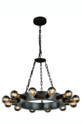Elegant Lighting 1500D25AI Ceiling Light, Image 1
