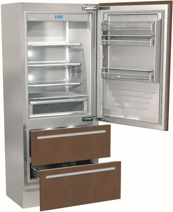 Fhiaba Integrated FI36BDIRO Bottom Freezer Refrigerator Panel Ready, FI36BDIRO Bottom Freezer Refrigerator