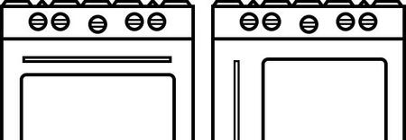 BlueStar  SWINGDOORRH18 Oven Door , 1