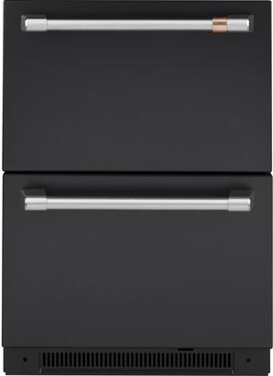 Cafe Matte Collection CDE06RP3ND1 Drawer Refrigerator Black, CDE06RP3ND1 Drawer Refrigerator