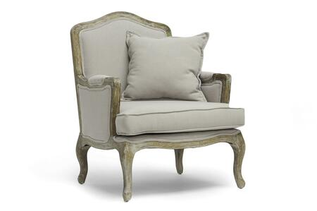 Wholesale Interiors TA2256BEIGE Accent Chair, TA2256 Beige
