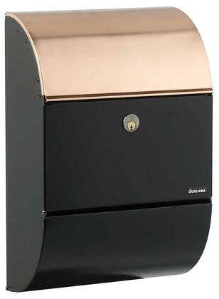 ALX-3000-BC Allux Series Mailboxes Allux 3000 in Black with