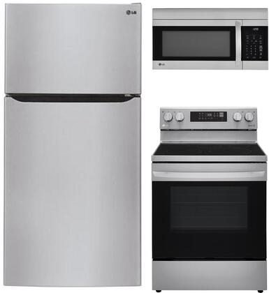 LG  904092 Kitchen Appliance Package Stainless Steel, main image