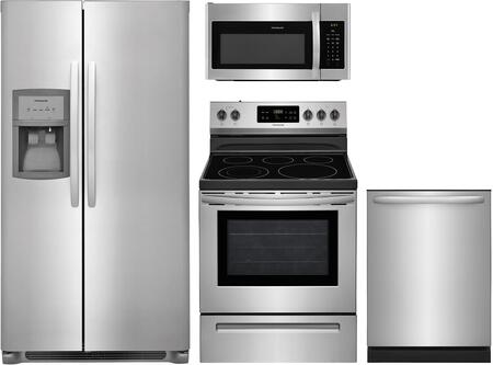 Frigidaire 840701 Kitchen Appliance Package & Bundle Stainless Steel, main image