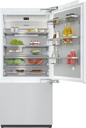 Miele MasterCool KF2902VI Bottom Freezer Refrigerator Panel Ready, KF2902VI MasterCool Bottom Freezer Refrigerator