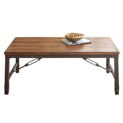 Steve Silver Ashford AF400C Coffee and Cocktail Table Brown, Main Image