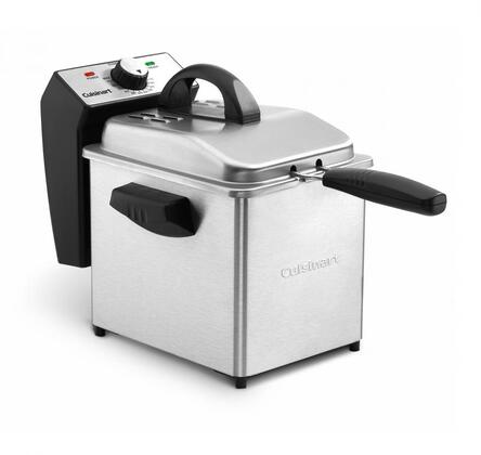 Cuisinart CDF130 Cooker/Fryer Stainless Steel, Main Image