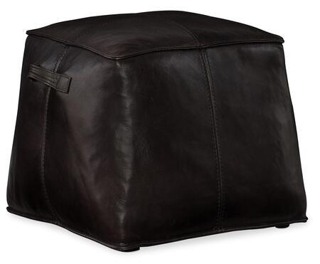 Hooker Furniture CO Series CO478097 Living Room Ottoman Black, Silo Image