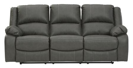 Signature Design by Ashley Calderwell 7710388 Living Room Sofa Gray, 77103 88 HEAD ON SW