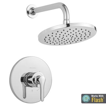 TU105507.002 Studio S Shower Only Trim Kit with Water-Saving Shower Head and Cartridge  Polish Chrome