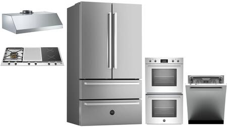 Bertazzoni 1054846 Kitchen Appliance Package & Bundle Stainless Steel, main image