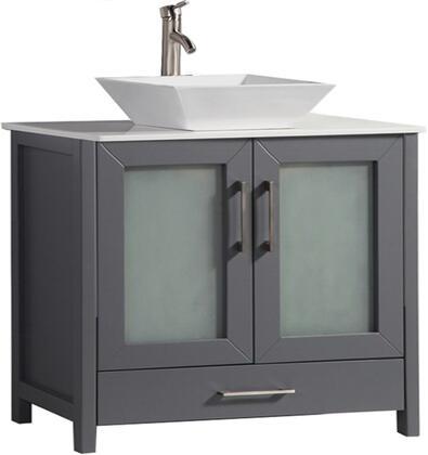 Jordan Collection MTD-1148G 48″ Single Sink Bathroom Vanity Set in