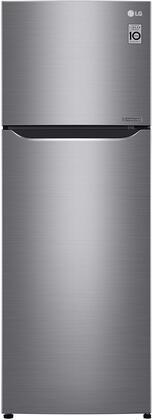 LG  LTNC11131V Top Freezer Refrigerator Stainless Steel, Main Image