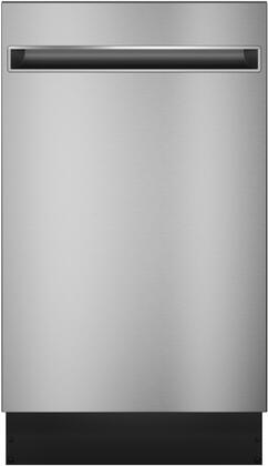 GE Profile  PDT145SSLSS Built-In Dishwasher Stainless Steel, Main Image