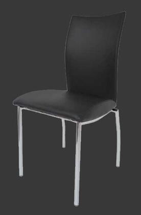 Grako Design  KA4067BLACK Dining Room Chair Black, Main Image