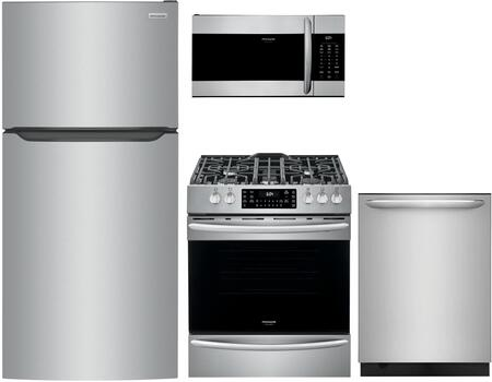 Frigidaire  1308064 Kitchen Appliance Package Stainless Steel, Main image