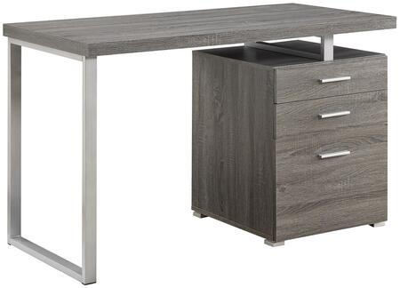Coaster Hilliard 800520 Office Desk Gray, 1