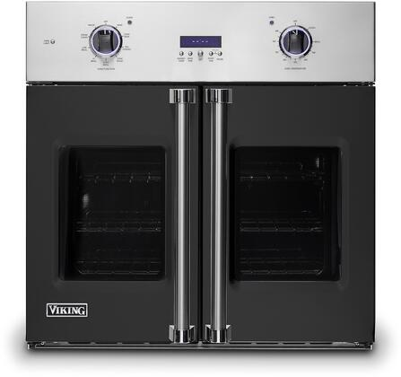 Viking 7 Series VSOF7301CS Single Wall Oven Black, VSOF7301CS Electric Single Wall Oven
