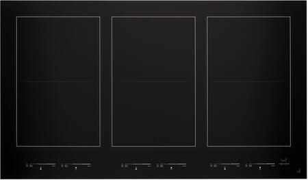 JIC4736HB Oblivion Glass 36″ Induction Flex Cooktop with 6 Elements  Emotive Controls  Magnetic Induction  Griddle  in Floating Glass