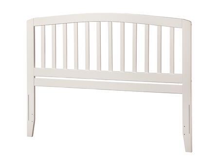 Atlantic Furniture Richmond AR288842 Headboard White, AR288842 SILO F 180
