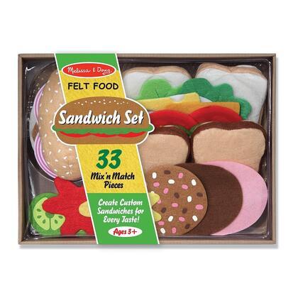 3954 Felt Food Sandwich