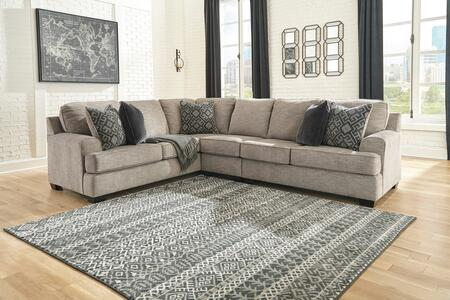Signature Design by Ashley Bovarian 561033PCSEC Sectional Sofa Gray, 1