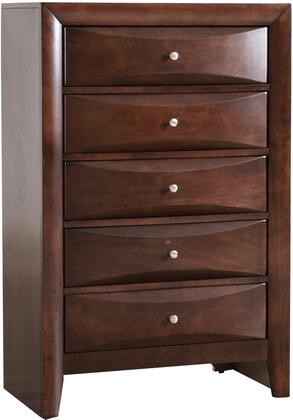 Glory Furniture Marilla G1525CH Chest of Drawer Brown, G1525CH Main Image