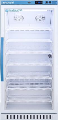 AccuCold  ARG8PV Freezerless Refrigerator White, ARG8PV Upright Vaccine Refrigerator
