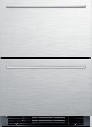 Summit  SPRF2D5IM Drawer Refrigerator Stainless Steel, Main Image