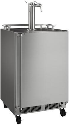 Marvel  MOKR224SS31A Beer Dispenser Stainless Steel, MOKR224 SS31A Mobile Beer Dispenser