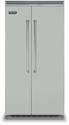 Viking 5 Series VCSB5423AG Side-By-Side Refrigerator Slate, VCSB5423AG Side-by-Side Refrigerator