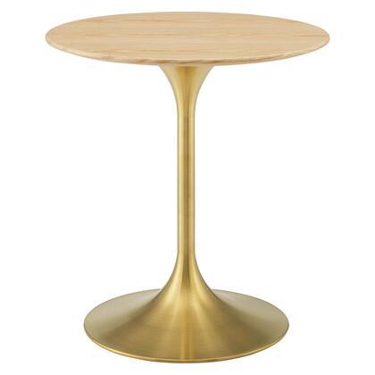 Modway Lippa EEI5213GLDNAT Dining Room Table Brown, EEI 5213 GLD NAT 1