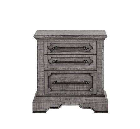 Acme Furniture Artesia 27103 Nightstand Brown, Front View