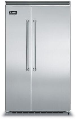 Viking 5 Series VCSB5483SS Side-By-Side Refrigerator Stainless Steel, In Stainless Steel