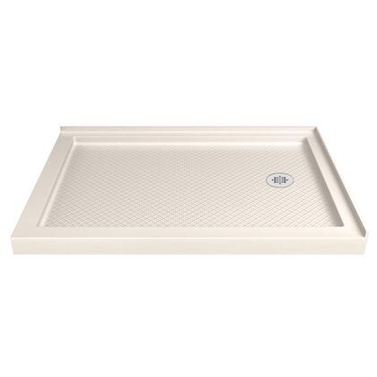 DLT-1036542-22 SlimLine 36″ D x 54″ W x 2 3/4″ H Right Drain Double Threshold Shower Base in