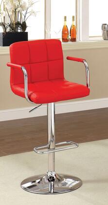 Furniture of America Corfu CMBR6917RD Bar Stool Red, Main Image