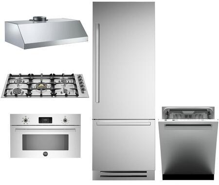 Bertazzoni 1055003 Kitchen Appliance Package & Bundle Stainless Steel, main image