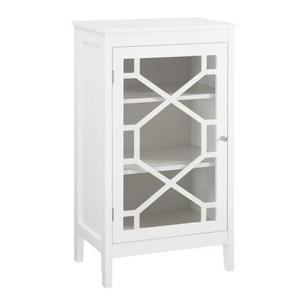 Linon Fetti 650211WHT01U Cabinet, 650211WHT01U%20Fetti%20White%20Small%20Cabinet